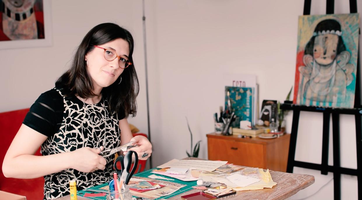 Laura Córdoba por Carla Bonomini